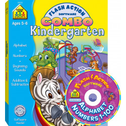 School Zone - combo kindergarten flash action software