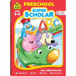 School Zone - preschool super scholar