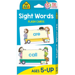 School Zone -Sight Words Flash Cards