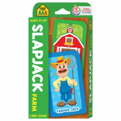 Shool Zone -Slapjack Farm Card Game