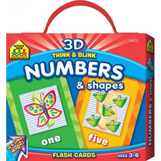 School Zone - Think & Blink Numbers & Shapes