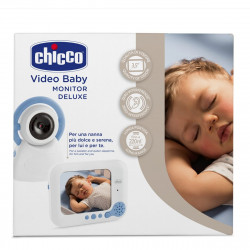 Chicco Video Baby Monitor Deluxe 254, Light Blue
