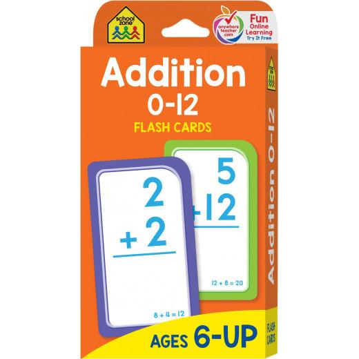 School Zone - Addition 0-12 Flash Cards