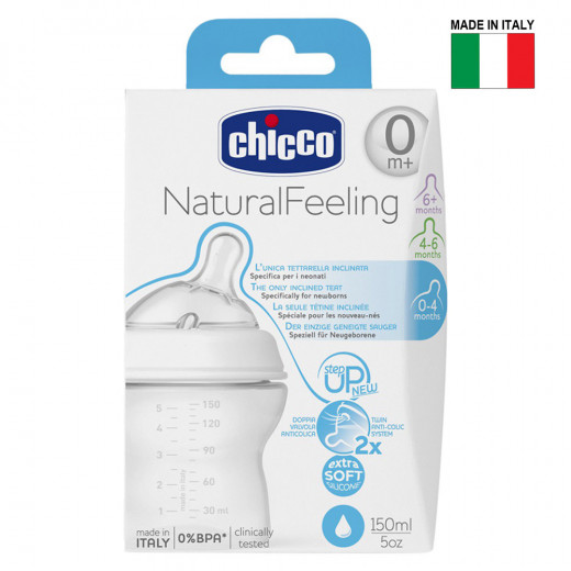 Chicco - Natural feeling 0M+ 150 ml Regular Flow