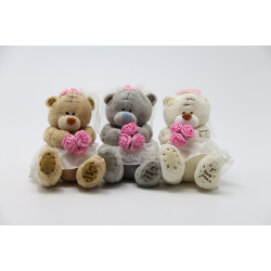 Me to You Bride & Groom Teddy Bear