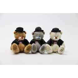 Me to You Groom Teddy Bear, Different Colors