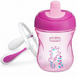 Chicco Training Cup 200ml 6M+ Girl