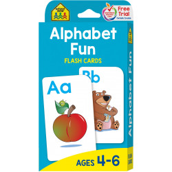 School Zone - Alphabet Fun Flash Cards
