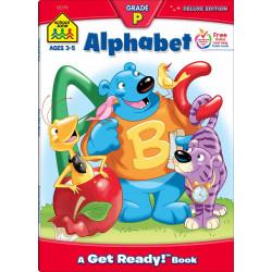 School Zone - Alphabet Deluxe Edition Workbook
