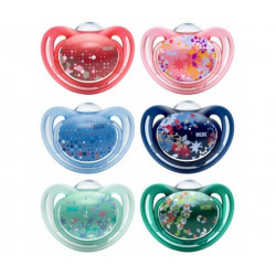 Nuk Silicone Soother Free Style Stage 1