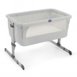 Chicco Next 2 Me Bedside Crib - Silver