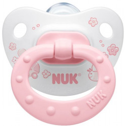 Nuk Silicon Soother Stage 2 - Rose