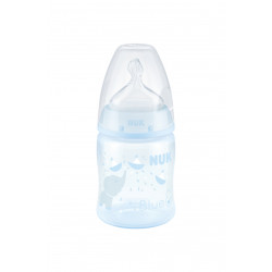 NUK First Choice Bottle 150 ml, Baby Blue, Assorted Models