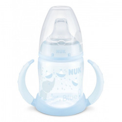 NUK Baby Blue 150 ml Bottle with Mouthpiece and Handle, Assorted Models