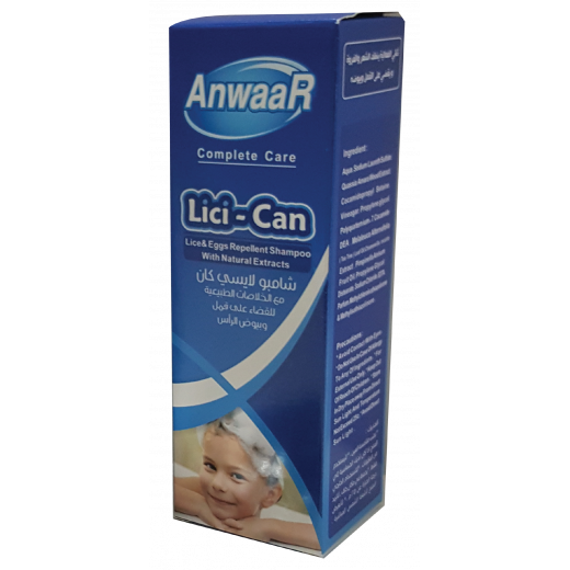 Lici-can Head Lice Shampoo - Lice Prevention & Repellent - Kid's Shampoo Lice Treatment (للقمل)