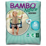 2x Bambo Nature Baby Training Pants Classic, Size 5 (12-20 Kg), 20 Count