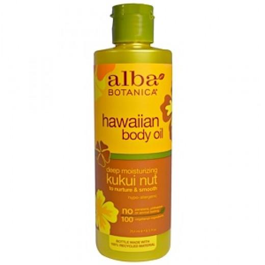 Alba Botanica Hawaiian Body Oil Kukui Nut 251ml