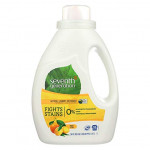 Seventh Generation Natural Liquid Laundry Detergent Fresh Citrus Breeze Fights Stains 1.47 L