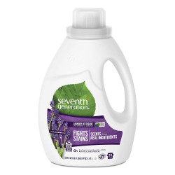 Seventh Generation Liquid Laundry Detergent, Fresh Lavender Scent 1.47L