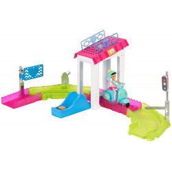 Barbie - Go Post Office Playset