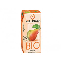Hollinger Organic Pear Juice 200ml