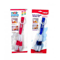 Farlin Bottle And Nipple Brush, Different Colors