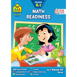 School Zone - Math Readiness Grades K-1