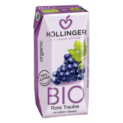 Hollinger Organic Grape Juice 200ml
