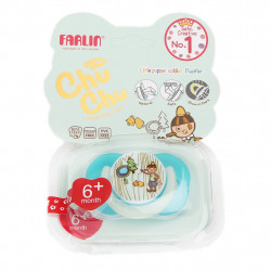 Farlin - Chu Chu Pacifier Medium Blue 6+