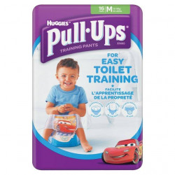 Huggies Pull-Ups Boys Medium 16 per pack (made in Britain)