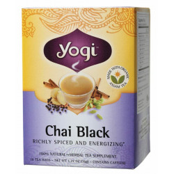Yogi-Chai Black Herbal Tea Bags x16