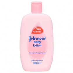 Johnson's Baby Lotion 300ml (Made in Britain).