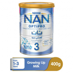 Nestle Nan 3 Optipro Growing Up Milk - 400g Tin