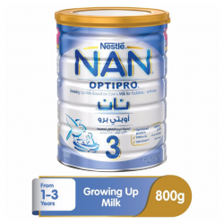 Nestle Nan 3 Optipro Growing Up Milk - 800g Tin