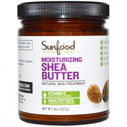 Sunfood Shea Butter, 8oz, Raw, Wild-crafted
