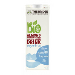 The Bridge Bio Almond Drink Sugar Free 1L