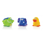 Nuby Fun Squirters (Colours and Designs May Vary)
