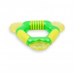 Nuby Textured Triangle Coolbite teether with Ice-Gel 4+, Different Colors