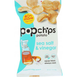 Pop Potato Chip - Sea Salt - Vinegar