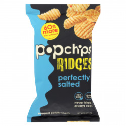 Pop chips Potato Chip - Ridges - Salted