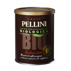 Pellini BIO ground espresso coffee 250g organic