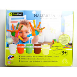 Free Limit - Stains Set With 5 Colors Window Painting