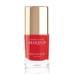 Federico Mahora - Nail Lacquer Gel Finish Smoke Red