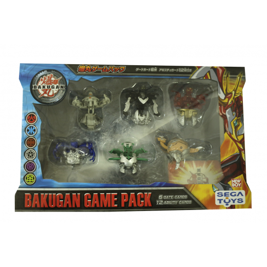 Bakugan Game Pack - 6 Gate Cards - 12 Ability Cards