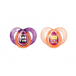 Tommee Tippee Silicone 2pcs 6-18m