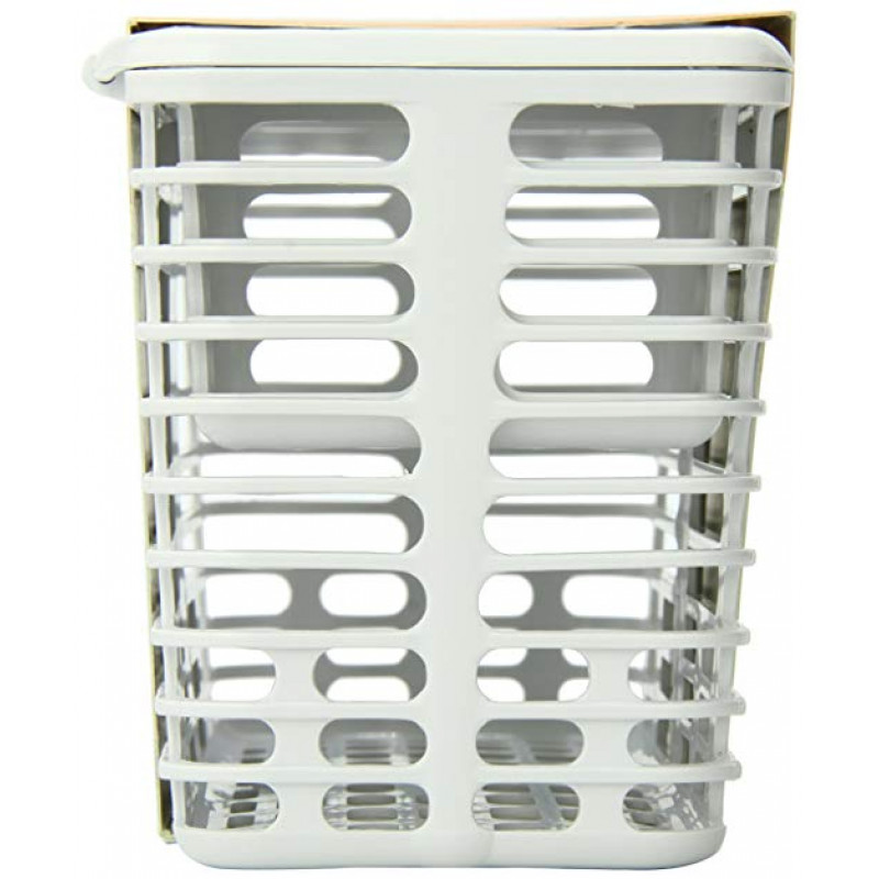 Prince Lionheart Deluxe Toddler Large Capacity White Dishwasher Basket