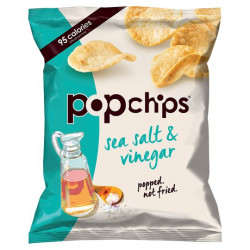 Pop Potato Chip - Sea Salt And Vinegar Potato Chips 23G