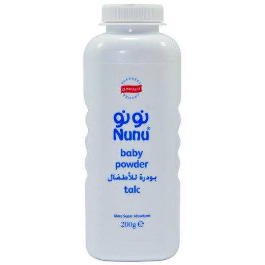 NuNu Baby Powder 200ML