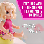 Baby Alive Potty Dance Baby Blonde Girl Doll