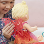 Baby Alive Doll - Face Paint Fairy Blonde Drawing Accessories Toy
